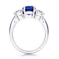 Three Stone Ring model 10a